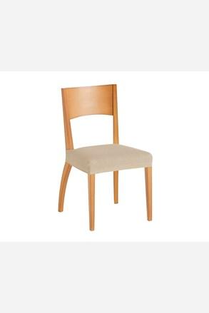 Komplet 2 pokrowców na krzesło beżowy