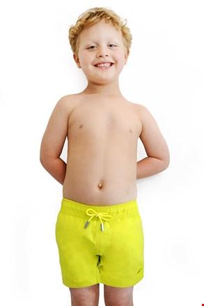 Chłopięce szorty kąpielowe Leonard Lime