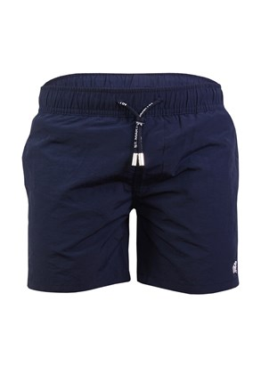 Chłopięce szorty kąpielowe Leonard Navy Blue