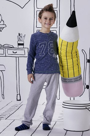 Chłopięca piżama Jacqard
