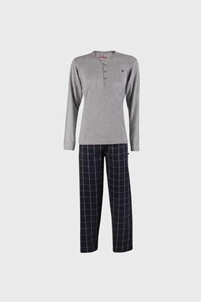 Szaroniebieska piżama Calebron
