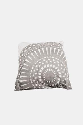 Poduszka dekoracyjna Koronka szara