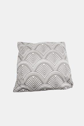 Poduszka dekoracyjna Łuski szara