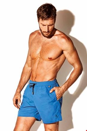 Męskie szorty kąpielowe Caicco plus size niebieskie