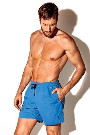 Niebieskie szorty kąpielowe David 52 Caicco