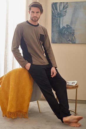 Czarno-zielona piżama Christopher