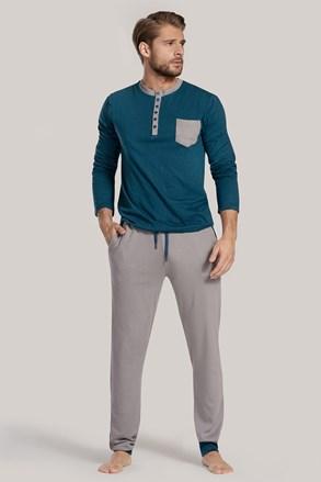 Niebiesko-zielona piżama Drew II
