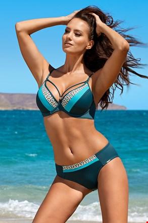 Dwuczęściowy damski kostium kąpielowy Demi Blue