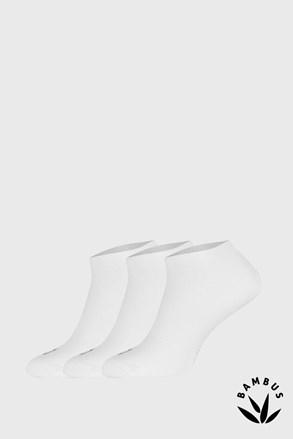 Trójpak bambusowych skarpetek Desi białe