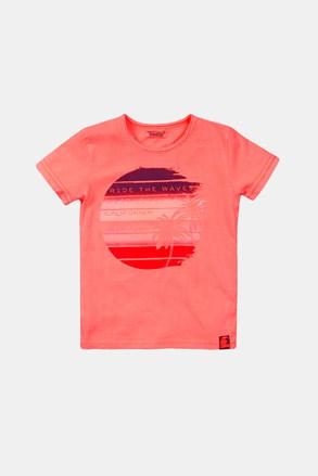 Chłopięcy T-shirt Summer