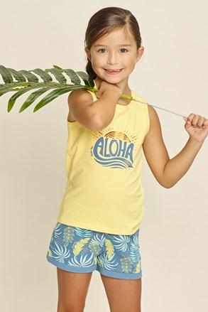 Dziewczęca piżama Aloha Palms