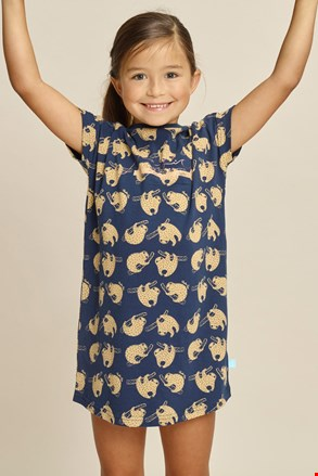 Dziewczęca koszula nocna Sloth
