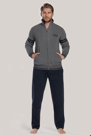 Komplet: szara bluza i spodnie sportowe Louie