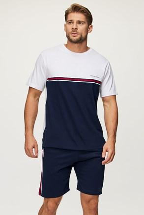 Niebiesko-biała piżama Sid