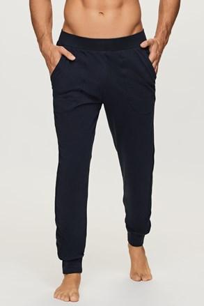 Niebieskie spodnie dresowe Emory