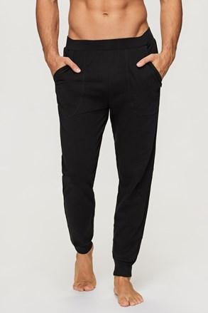 Czarne spodnie dresowe Emory