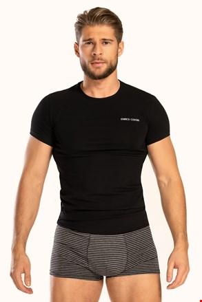 Czarny komplet: T-shirt i bokserki Alaric