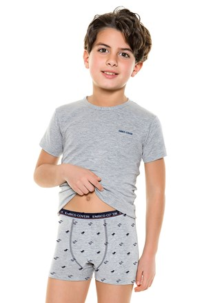 Komplet chłopięcy: Bokserki i T-shirt