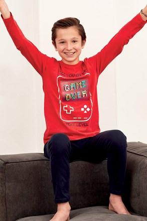 Chłopięca piżama Magic Play czerwona