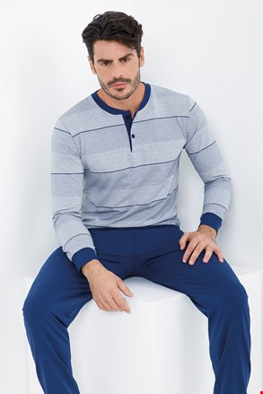 Niebieska piżama Benet