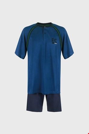 Niebieska piżama Casey PLUS SIZE