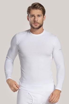Biała koszulka z długim rękawem