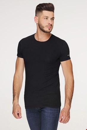 Czarny bawełniany T-shirt PLUS SIZE