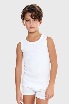 Chłopięcy podkoszulek E. Coveri basic biały