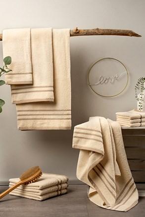 Luksusowy komplet ręczników Eco Nature ecru