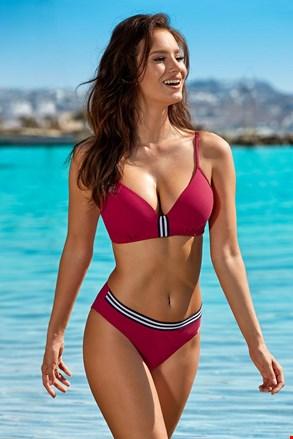 Dwuczęściowy damski kostium kąpielowy Edith Red