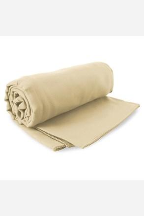 Komplet szybkoschnących ręczników Ekea beżowy