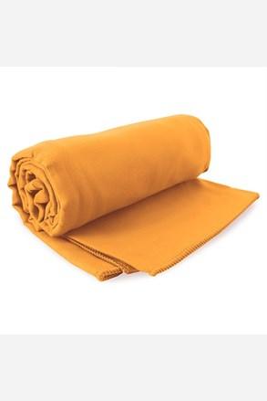 komplet szybkoschnących ręczników Ekea pomarańczowy