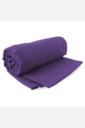 Komplet szybkoschnących ręczników Ekea fioletowy