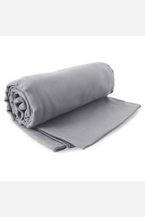 Szybkoschnący ręcznik kąpielowy Ekea szary