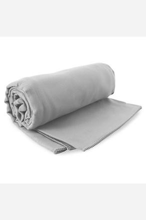 Komplet szybkoschnących ręczników Ekea szary