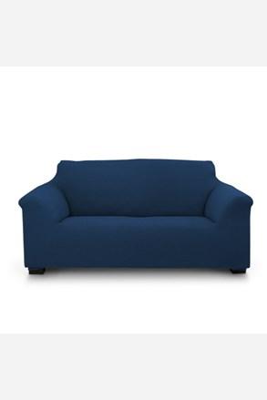 Pokrowiec na dwuosobową sofę Elegant niebieski