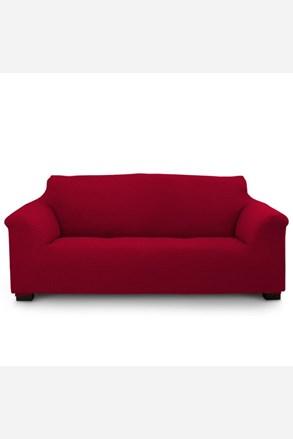 Pokrowiec na sofę trzyosobową Elegant czerwony