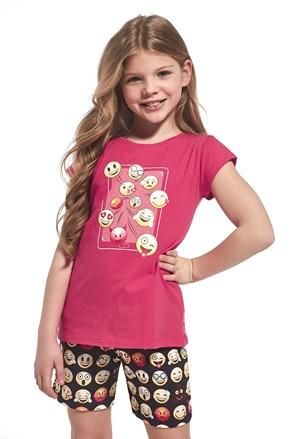 Dziewczęca piżama Emoticon