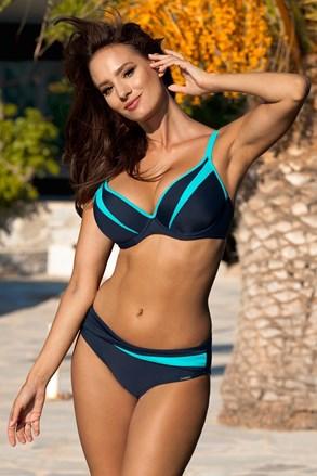 Dwuczęściowy damski kostium kąpielowy Ezer Blue
