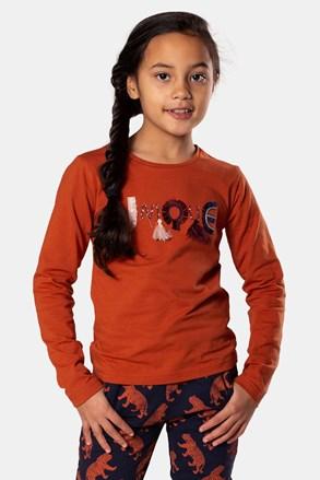 Dziewczęcy T-shirt Rusty