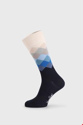 Skarpetki Happy Socks Faded Diamond niebieskie