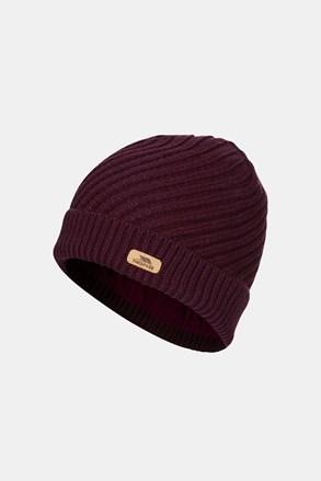 Damska fioletowa czapka Twisted