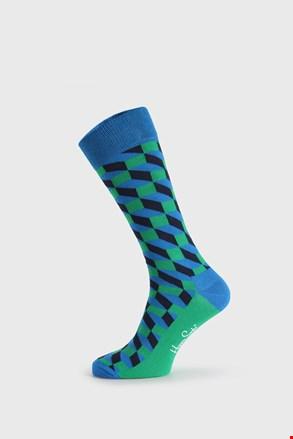 Skarpetki Happy Socks Filled Optic zielono-niebieskie