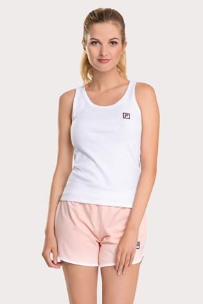 Damski biało-różowy komplet FILA French Terry