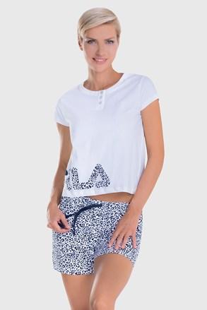 Damski biały komplet FILA Short jersey
