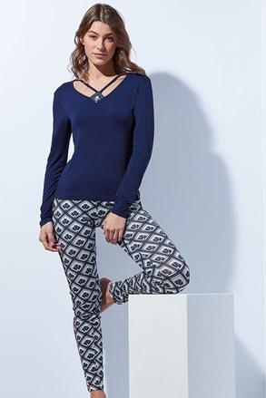 Elegancka damska piżama Tie