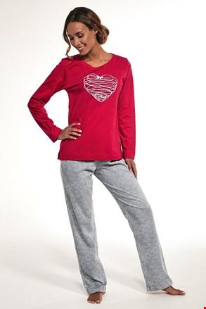 Damska bawełniana piżama Heart