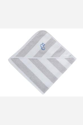 Ręcznik niemowlęcy z kapturem Hipopotam
