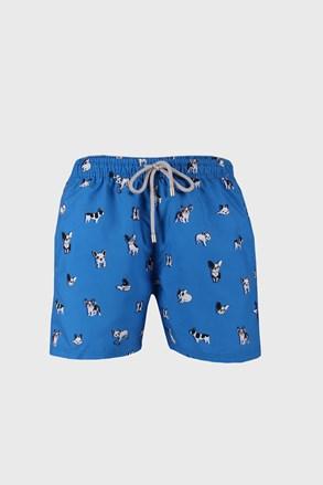 Niebieskie szorty kąpielowe Bulldog