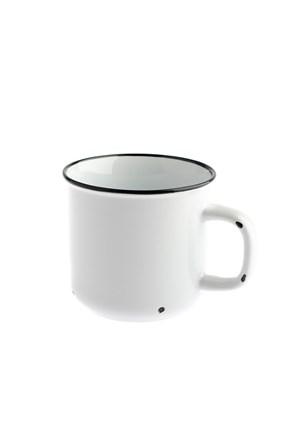 Porcelanowy kubek biały 440 ml
